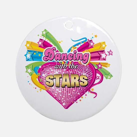 Dancing with the Stars Ornament (Round)