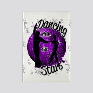 Dancing With The Stars Rectangle Magnet