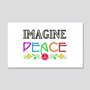 Imagine Peace Wall Decal