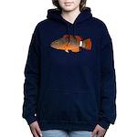 Ringtail Maori Wrasse c Women's Hooded Sweatshirt