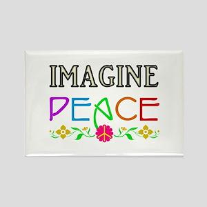 Imagine Peace Magnets