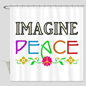 Imagine Peace Shower Curtain