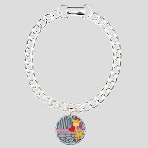 Custom Giraffe, Zebra An Charm Bracelet, One Charm