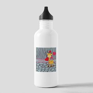 Custom Giraffe, Zebra Stainless Water Bottle 1.0L