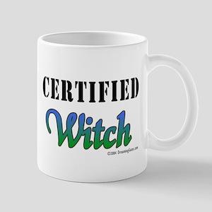 """Certified Witch"" Mug"
