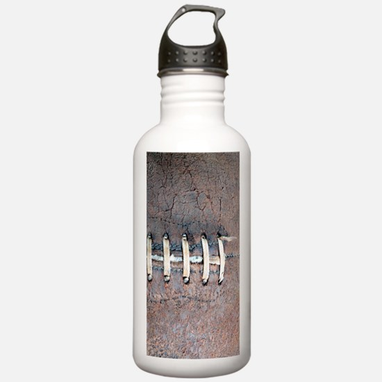 Funny Brown leather Water Bottle