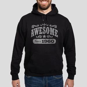 Awesome Since 1960 Hoodie (dark)