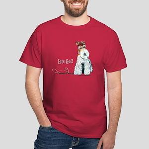 Fox Terrier Walk Dark T-Shirt