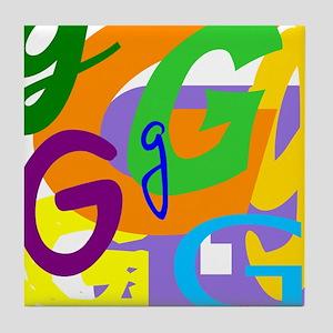Initial Design (G) Tile Coaster