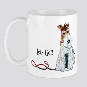 Fox Terrier Walk Mug