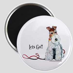 Fox Terrier Walk Magnet