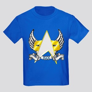 Star Trek Dax Tattoo Kids Dark T-Shirt
