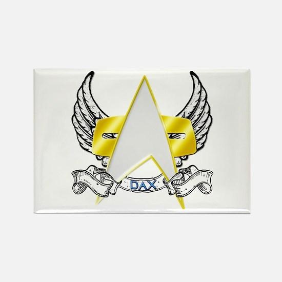 Star Trek Dax Tattoo Rectangle Magnet