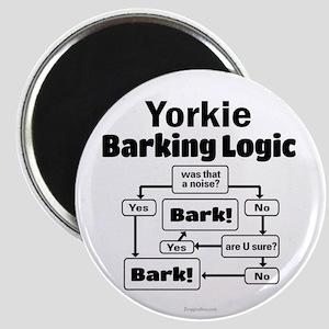 Yorkie Logic Magnet