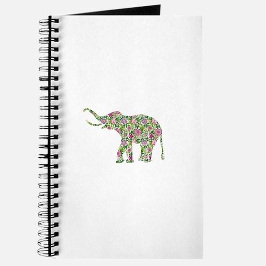 Unique Colorful elephant Journal