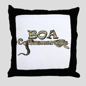 Boa Throw Pillow