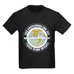 USS KRETCHMER Kids Dark T-Shirt