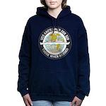 USS KRETCHMER Women's Hooded Sweatshirt