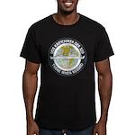 USS KRETCHMER Men's Fitted T-Shirt (dark)
