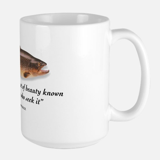 A trout is... Large Mug
