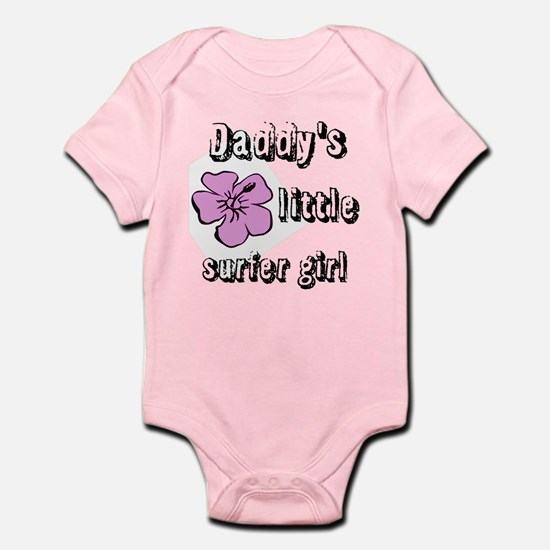 Daddys Little Surfer Girl Body Suit