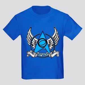 Star Trek Spock Tattoo Kids Dark T-Shirt
