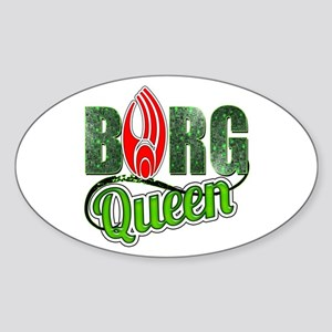 Borg Queen Sticker (Oval)