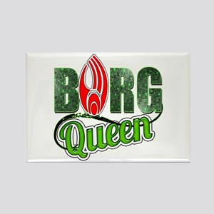 Borg Queen Rectangle Magnet