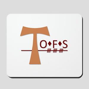 OFS Secular Franciscan Order Mousepad