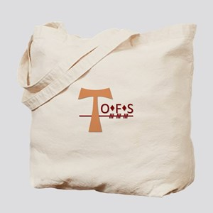 OFS Secular Franciscan Order Tote Bag