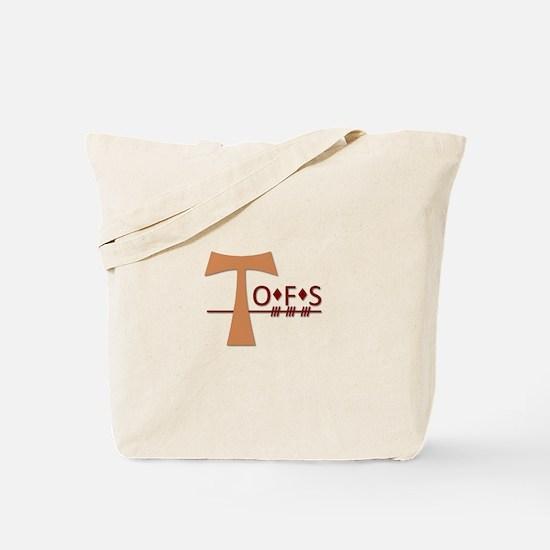 OFS Secular Franciscan Order Tote Bag