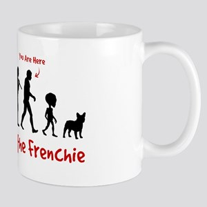 Evolution of the FRENCHIE - Science Mug