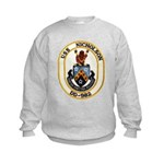 USS NICHOLSON Kids Sweatshirt