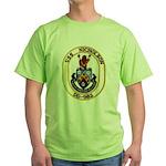 USS NICHOLSON Green T-Shirt