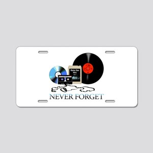 never-4 Aluminum License Plate