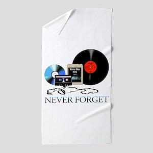 never-4 Beach Towel