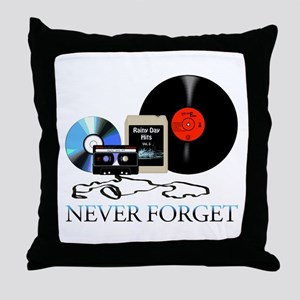 never-4 Throw Pillow
