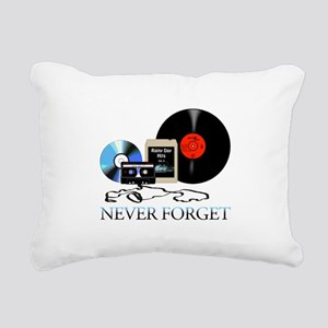 never-4 Rectangular Canvas Pillow
