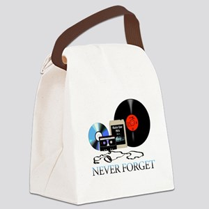never-4 Canvas Lunch Bag