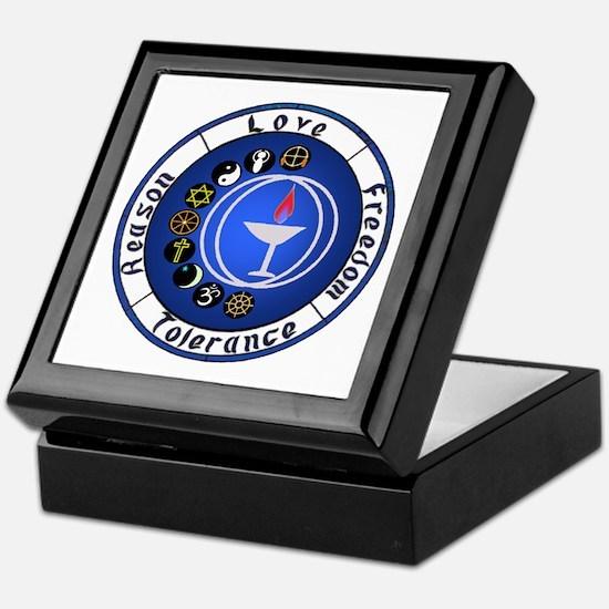Circle Chalice Keepsake Box