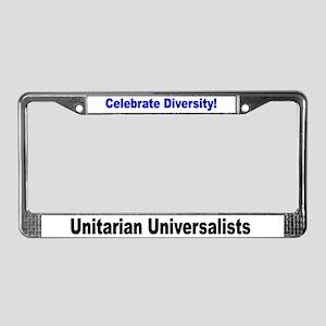 Diversity License Plate Frame