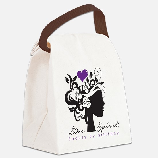 Love. Spirit.  Canvas Lunch Bag