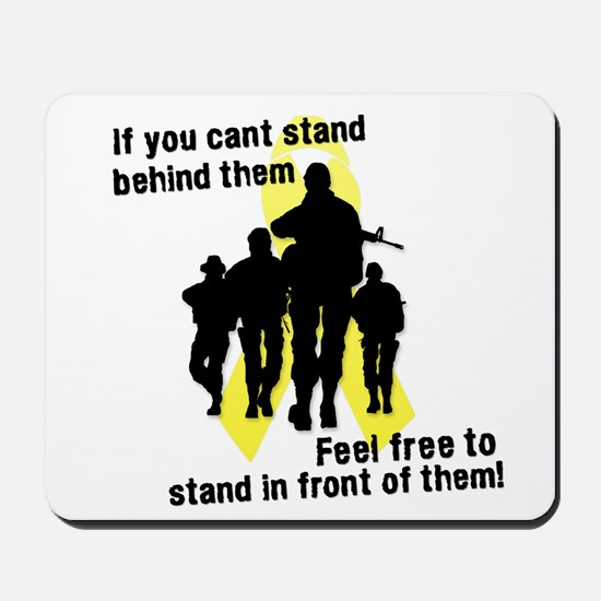 Feel Free To Stand In Front o Mousepad
