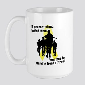 Feel Free To Stand In Front o Large Mug