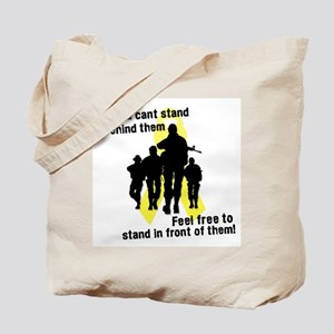 Feel Free To Stand In Front o Tote Bag