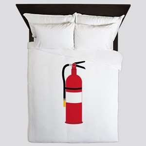 Fire Extinguisher Queen Duvet