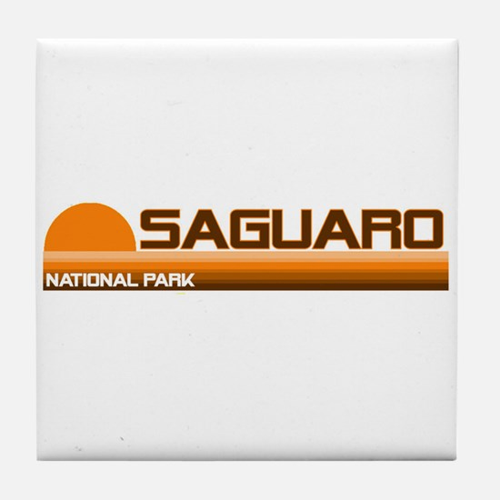 Saguaro National Park Tile Coaster