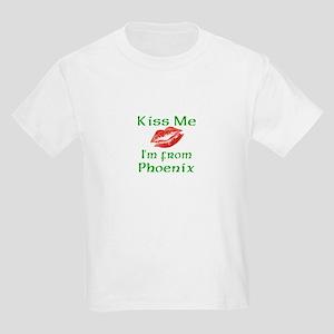 Kiss Me I'm from Phoenix Kids Light T-Shirt