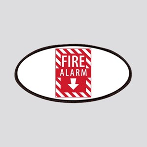 Fire Alarm Sign Patches