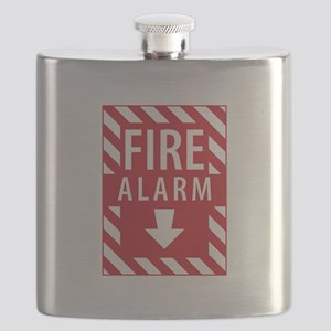 Fire Alarm Sign Flask